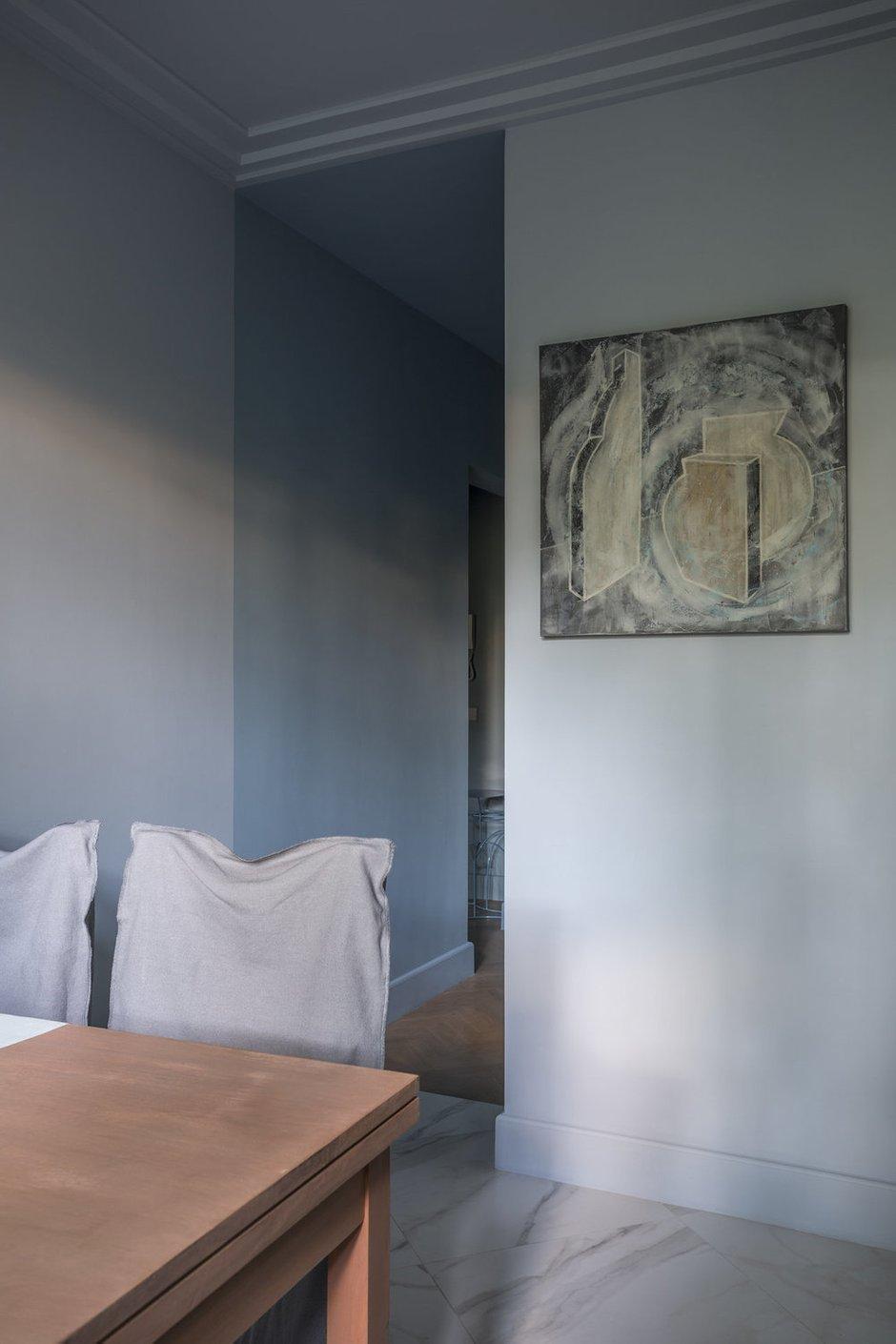 Фотография: Кухня и столовая в стиле Скандинавский, Квартира, Проект недели, Москва, П-44, Панельный дом, 2 комнаты, 40-60 метров – фото на INMYROOM