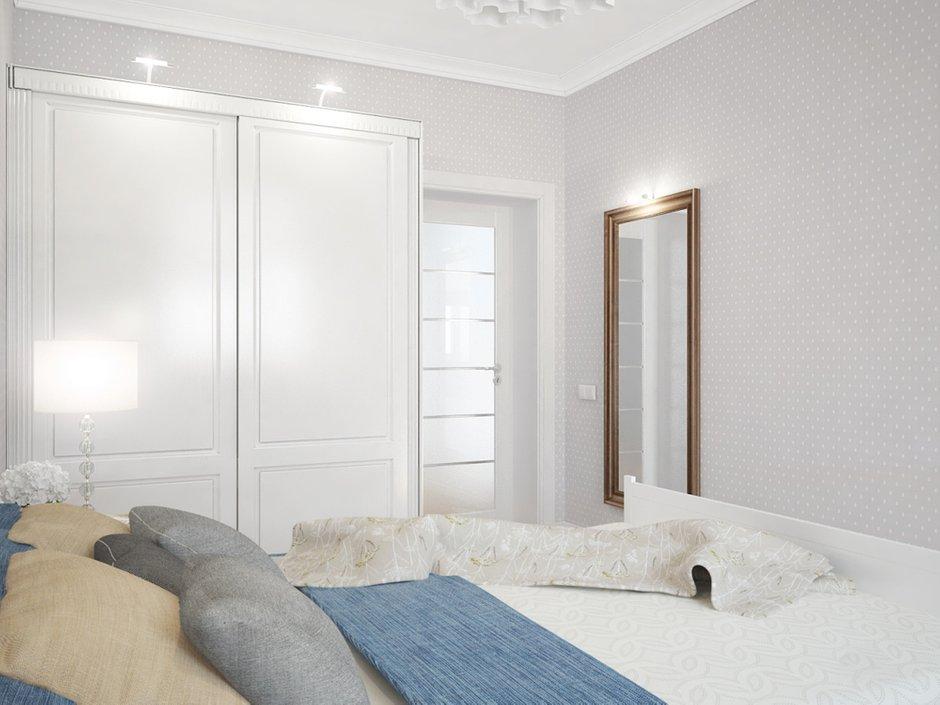 Фотография: Спальня в стиле Скандинавский, Квартира, Цвет в интерьере, Дома и квартиры, Белый, Проект недели – фото на INMYROOM