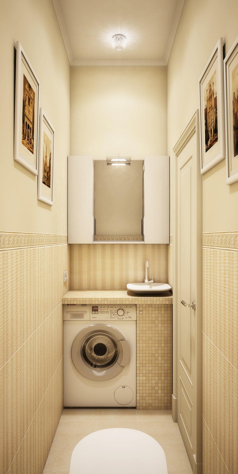 Фотография: Ванная в стиле Современный, Классический, Квартира, Проект недели – фото на INMYROOM