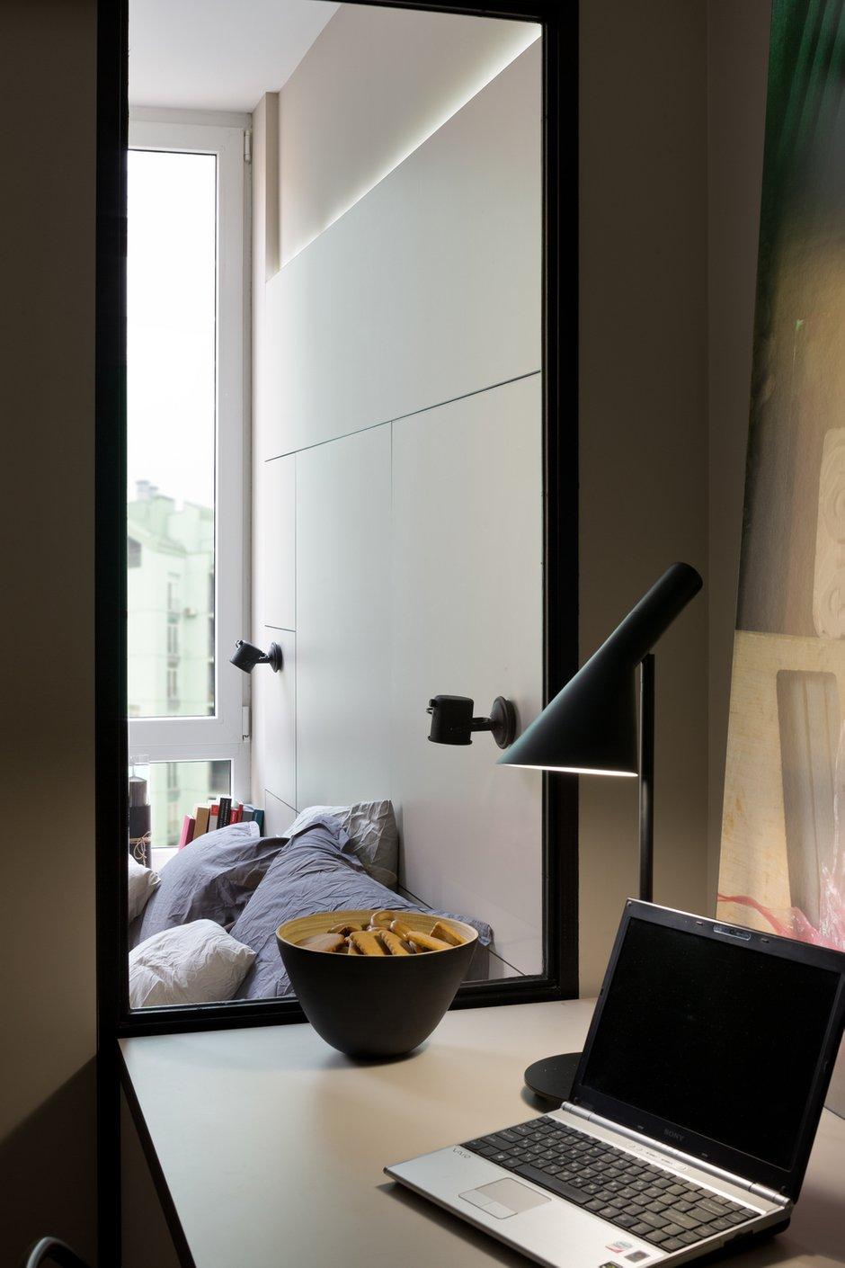Фотография: Кабинет в стиле Современный, Квартира, Проект недели, 2 комнаты, 40-60 метров, Елена Фатеева, Fateeva Design – фото на INMYROOM
