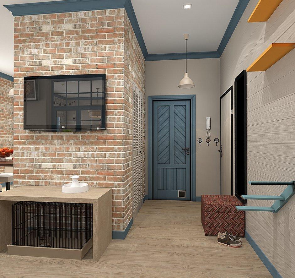 Фотография: Прихожая в стиле Скандинавский, Квартира, Проект недели, Zi-Design Interiors – фото на INMYROOM