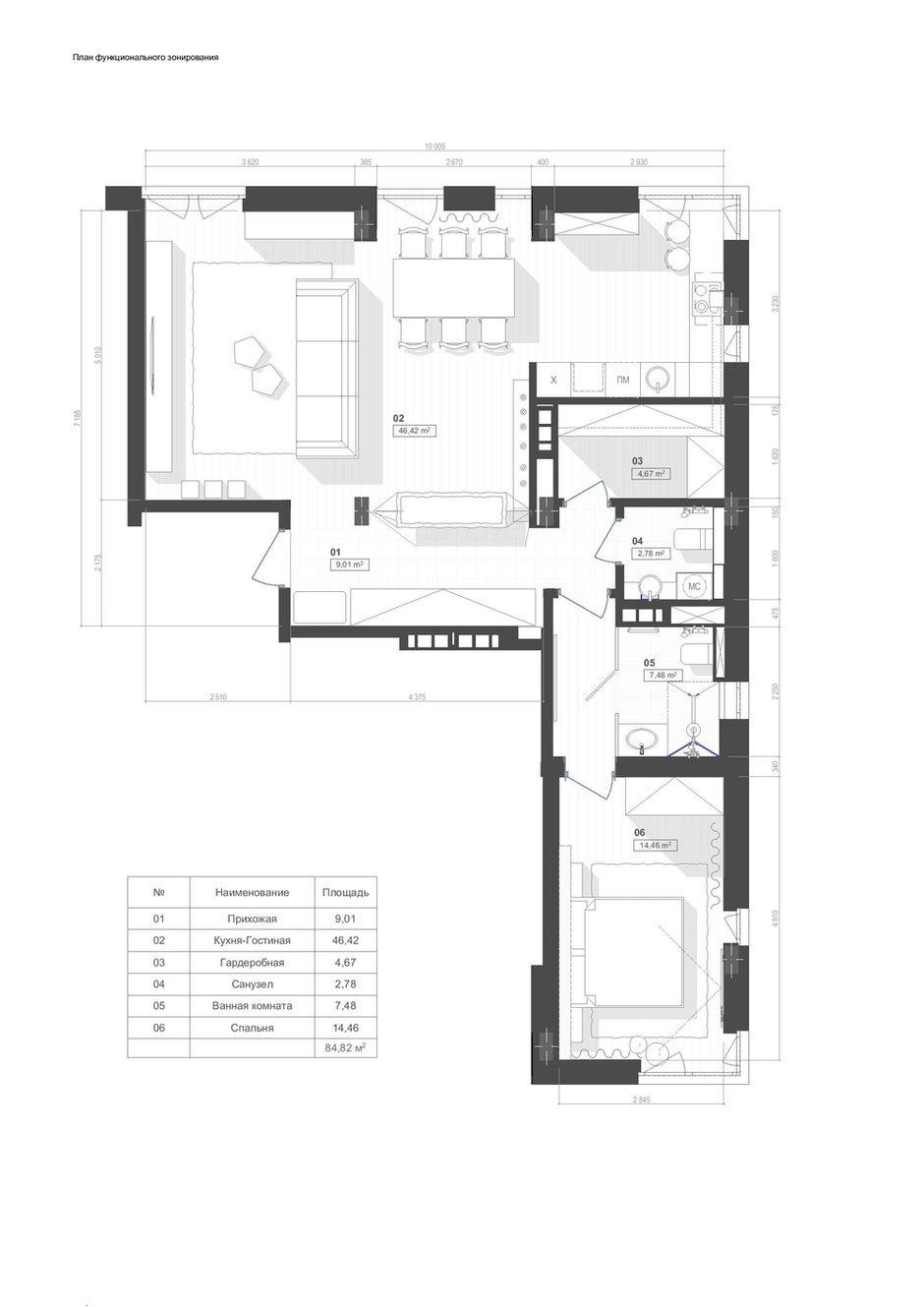 Фотография: Планировки в стиле , Лофт, Квартира, Проект недели, Киев, новостройка, Монолитный дом, 2 комнаты, 60-90 метров – фото на INMYROOM