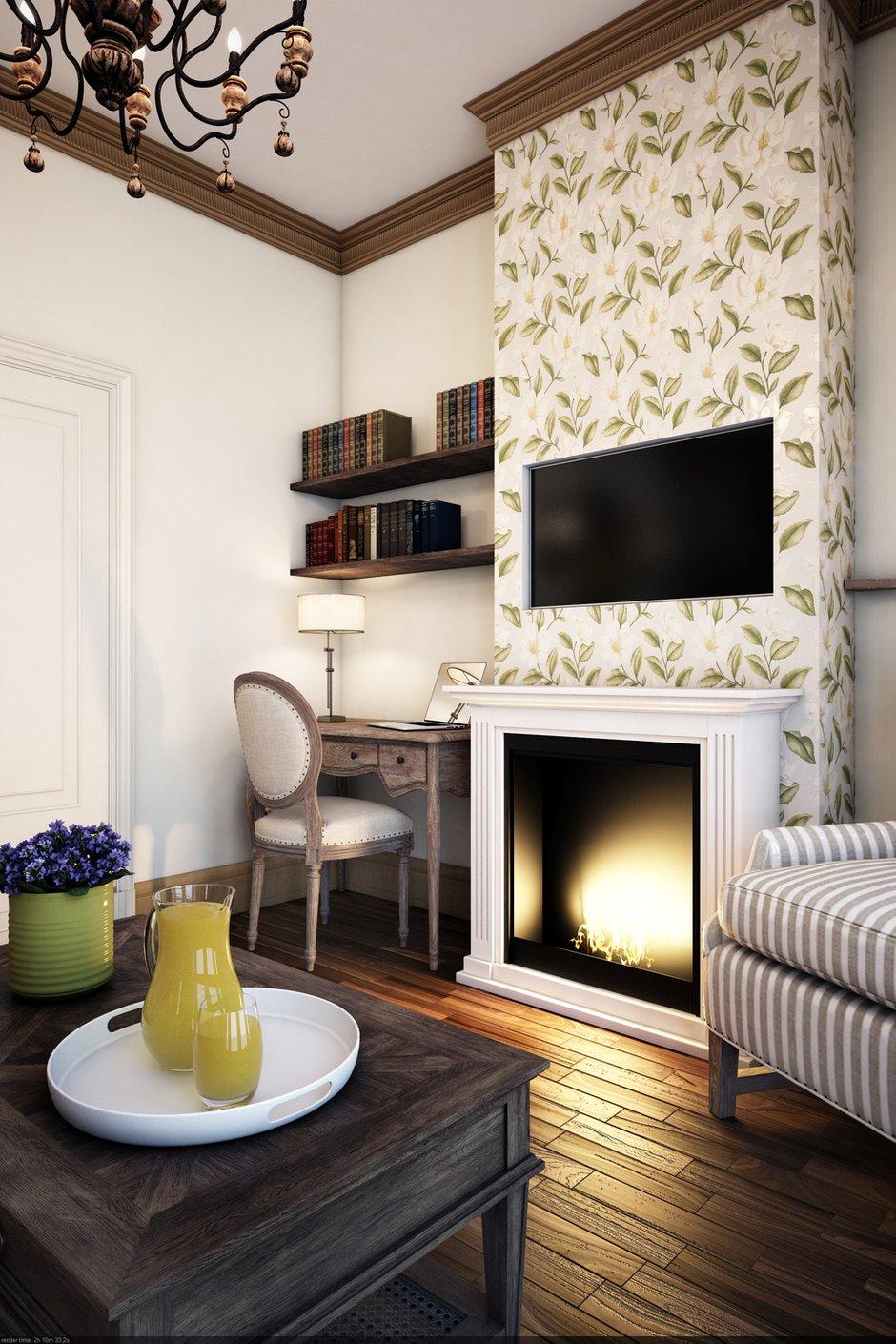 Фотография: Гостиная в стиле Прованс и Кантри, Классический, Квартира, Проект недели – фото на INMYROOM