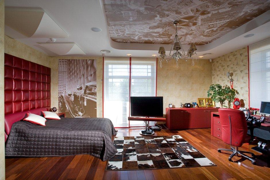 Фотография: Спальня в стиле Современный, Дом, Дома и квартиры, Ар-деко – фото на INMYROOM