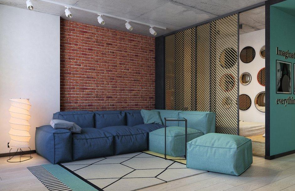 Фотография:  в стиле , Квартира, Проект недели, Краснодар, Екатерина Домрачева – фото на INMYROOM
