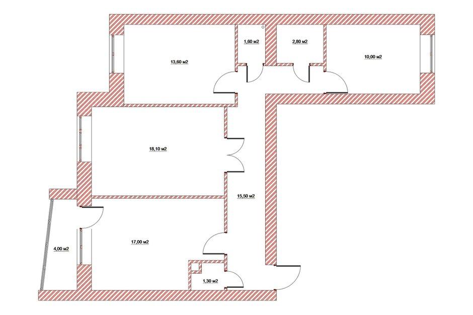 Фотография: Планировки в стиле , Квартира, Студия, Россия, Минимализм, Проект недели, Юлия Чернова, Монолитный дом, 40-60 метров – фото на INMYROOM