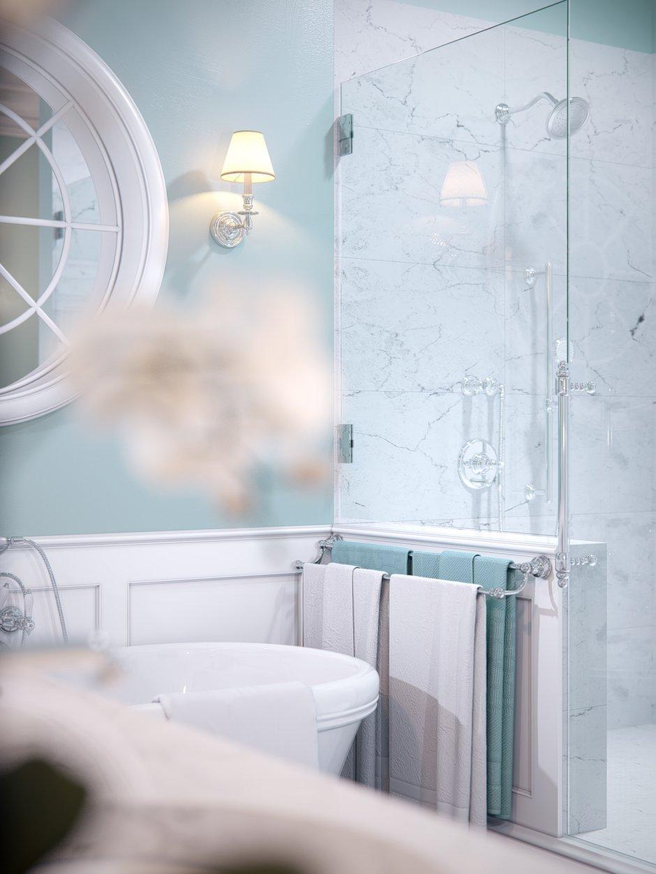 Фотография: Ванная в стиле Классический, Квартира, Проект недели, Санкт-Петербург, Монолитный дом, 4 и больше, Более 90 метров, Студия Александра Акименкова, ЖК Brilliant House – фото на INMYROOM