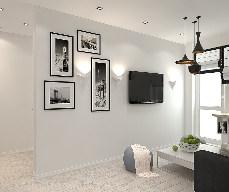Фотография: Декор в стиле Современный, Квартира, BoConcept, Цвет в интерьере, Дома и квартиры, Белый, IKEA, Проект недели, Cosmorelax – фото на INMYROOM