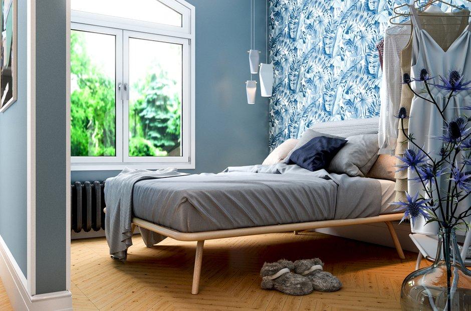 Фотография: Спальня в стиле Скандинавский, Малогабаритная квартира, Квартира, Проект недели, Марина Саркисян, Хельсинки, 2 комнаты, до 40 метров – фото на INMYROOM