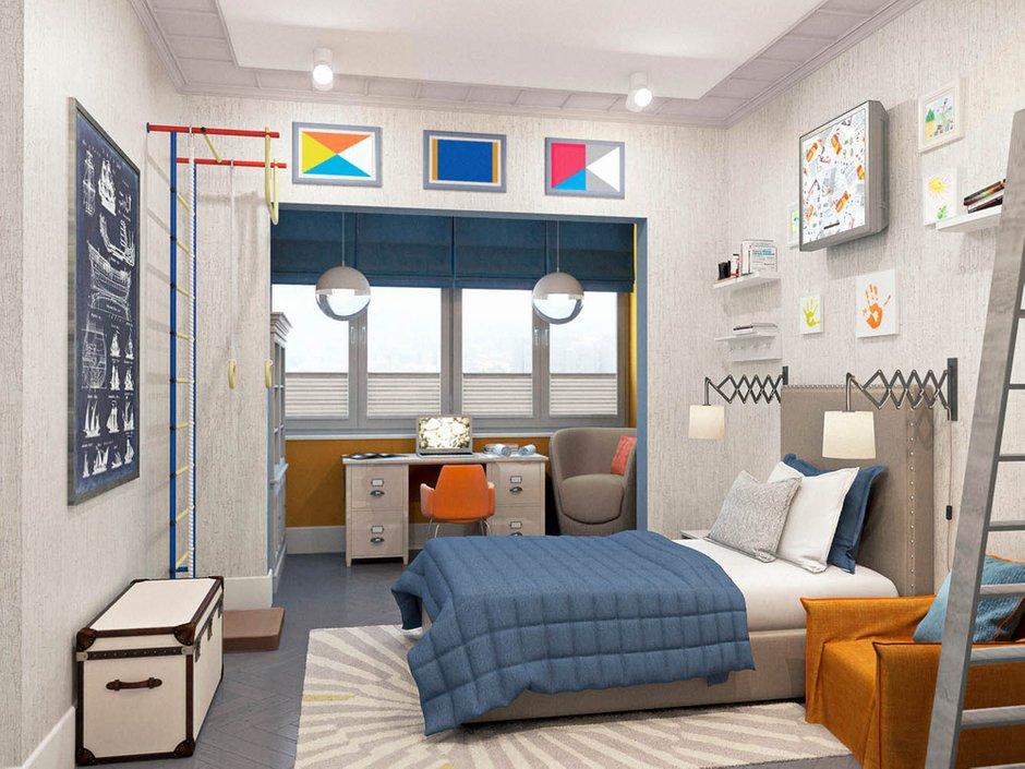 Фотография: Детская в стиле Современный, Классический, Эклектика, Квартира, Проект недели – фото на INMYROOM