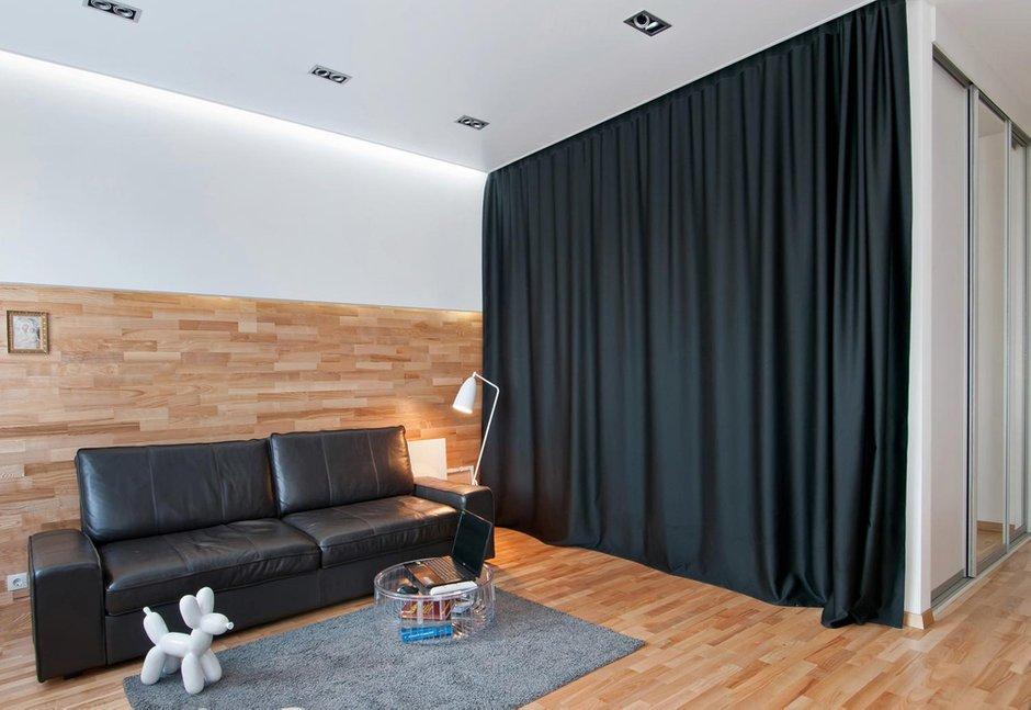 Фотография:  в стиле , Квартира, Студия, Проект недели, Новосибирск, Art-Ugol, новостройка, Монолитный дом, до 40 метров, 40-60 метров – фото на InMyRoom.ru