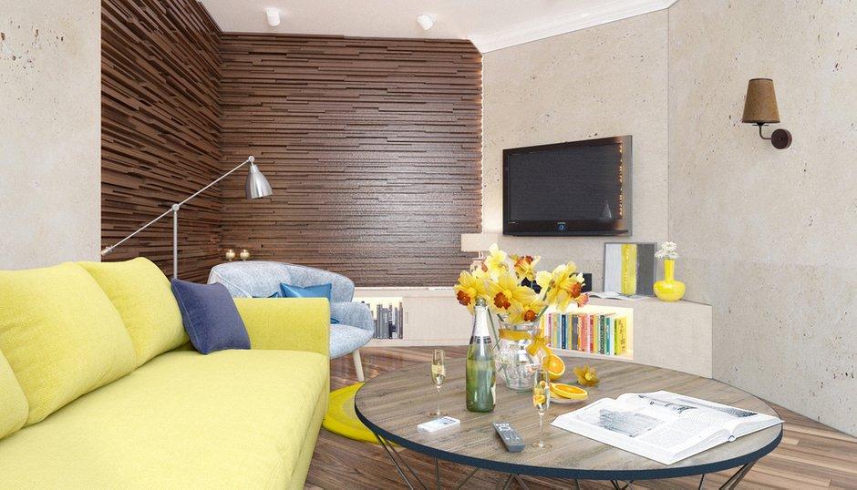 Фотография: Гостиная в стиле Современный, Квартира, Дома и квартиры, IKEA, Проект недели – фото на INMYROOM