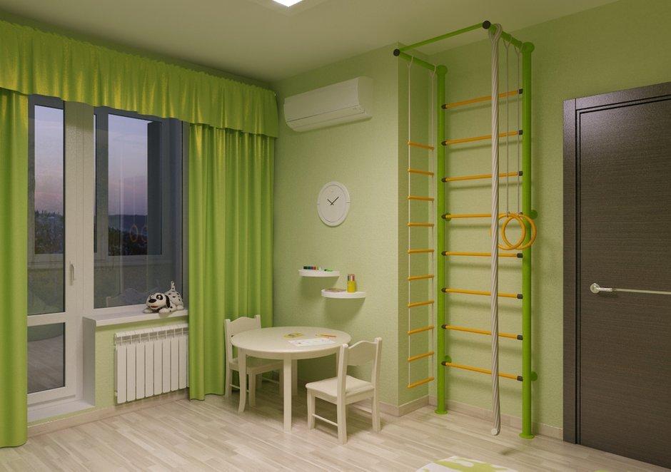 Фотография: Детская в стиле Современный, Квартира, Дома и квартиры, Проект недели – фото на INMYROOM