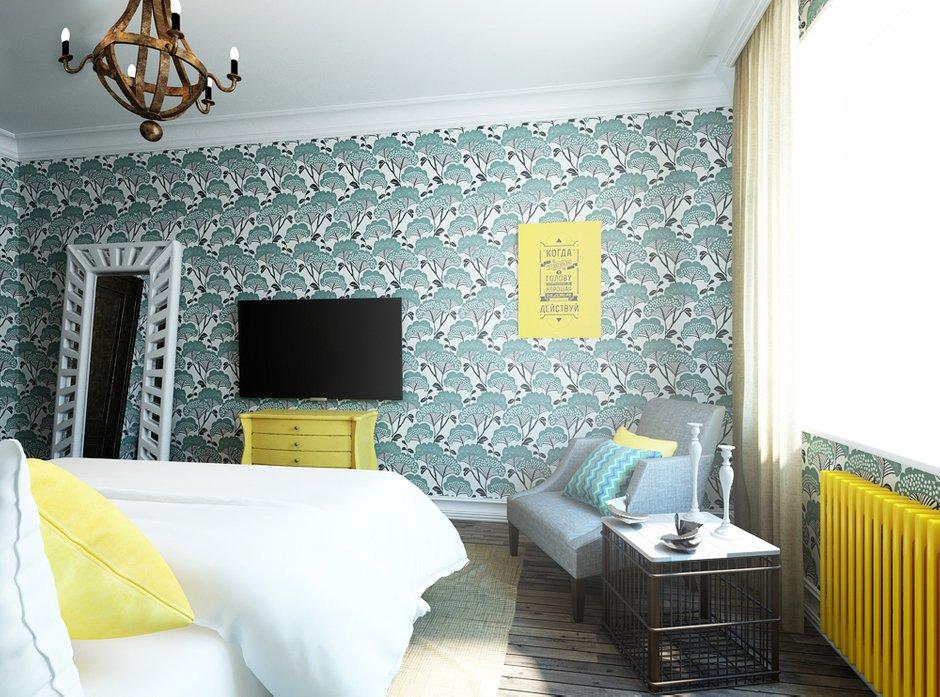 Фотография: Спальня в стиле Прованс и Кантри, Квартира, Проект недели, Эко – фото на INMYROOM