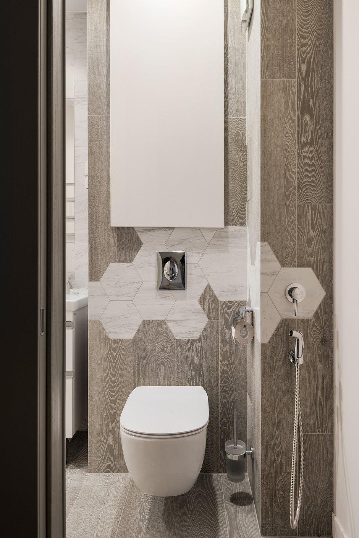 Фотография: Ванная в стиле Современный, Квартира, Проект недели, Новосибирск, 2 комнаты, 40-60 метров, 60-90 метров, Анна Марковина – фото на INMYROOM