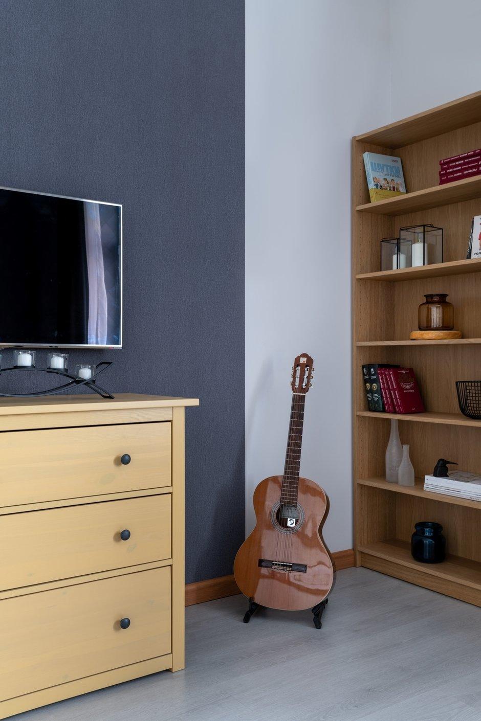 Фотография: Гостиная в стиле Современный, Малогабаритная квартира, Квартира, Проект недели, Москва, 1 комната, 40-60 метров, Светлана Краснова – фото на INMYROOM