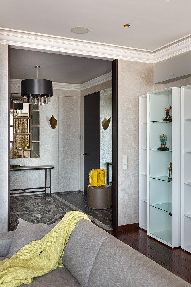 Фотография: Прихожая в стиле Современный, Гостиная, Интерьер комнат, Проект недели – фото на INMYROOM