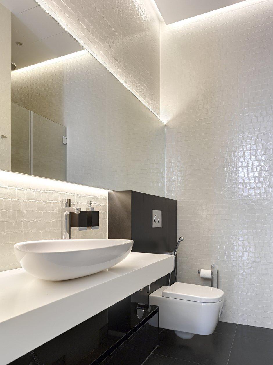 Фотография: Ванная в стиле Лофт, Дом, Дома и квартиры, Минимализм, Проект недели, Эко – фото на INMYROOM