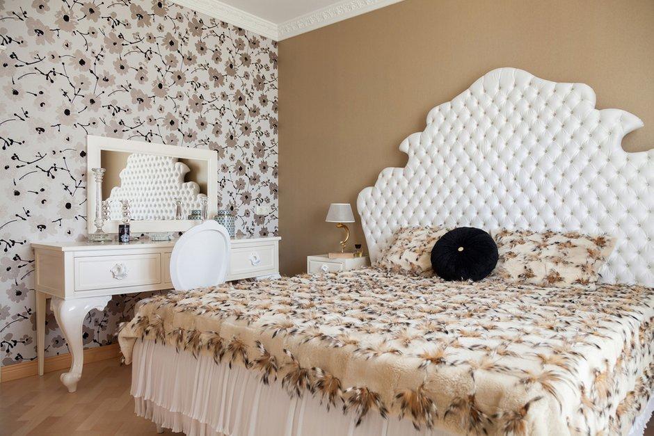 Фотография: Спальня в стиле Классический, Квартира, Дома и квартиры, Проект недели, Москва – фото на INMYROOM