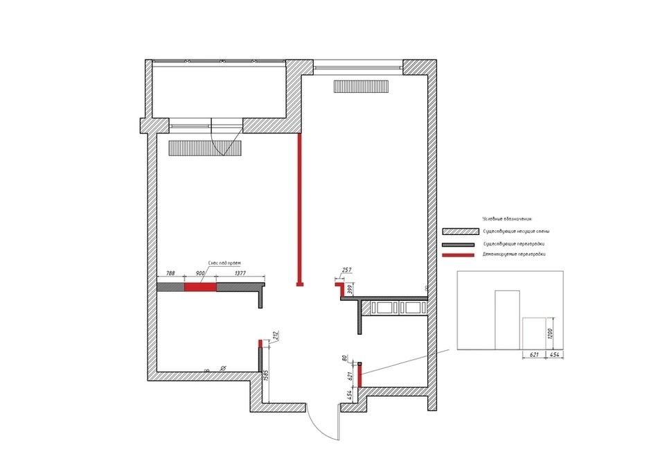 Фотография: Планировки в стиле , Лофт, Квартира, Студия, Перепланировка, VizDiz – фото на INMYROOM