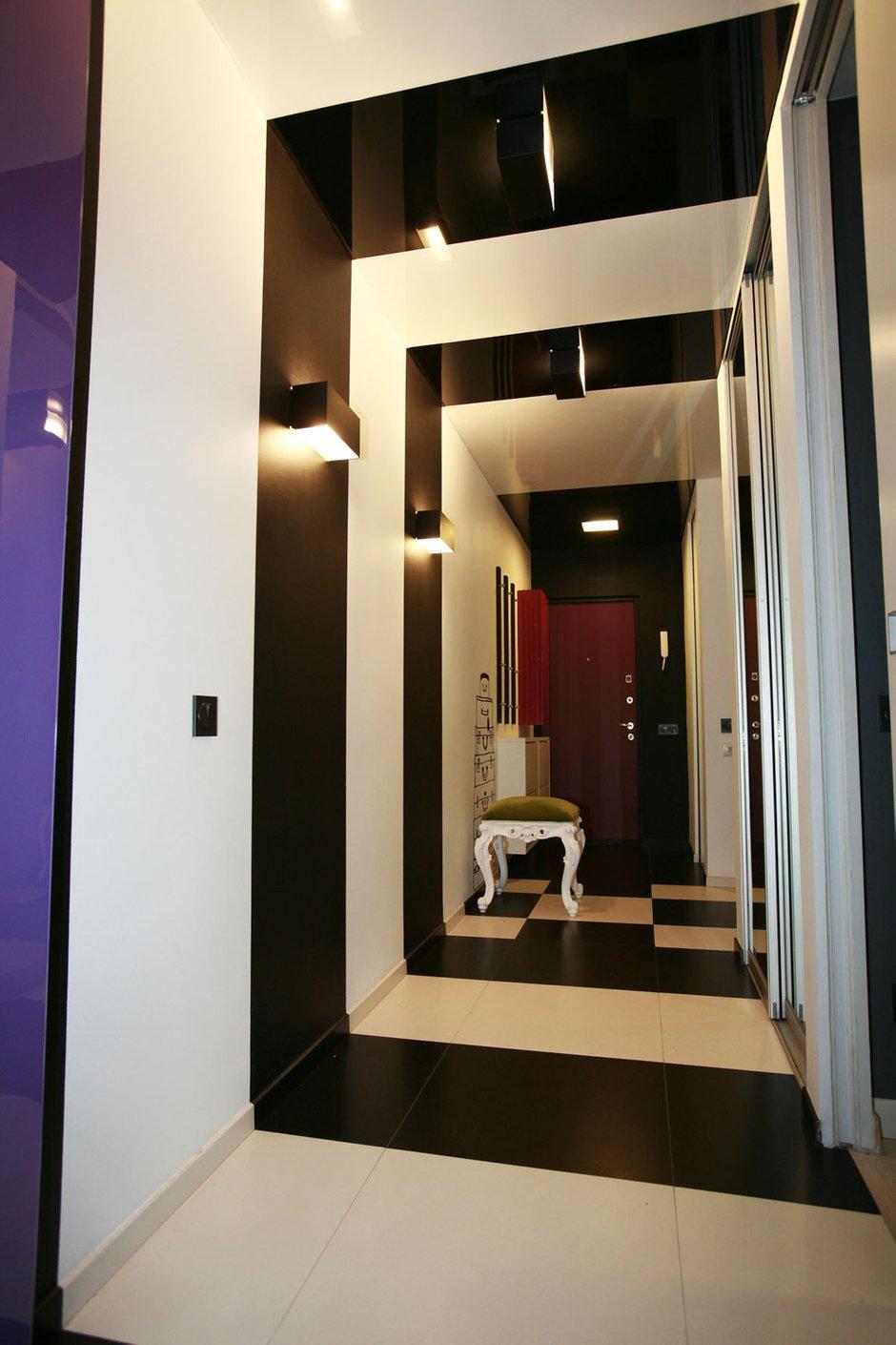 Фотография: Прихожая в стиле Эклектика, Квартира, Дома и квартиры, Перепланировка, Ремонт – фото на INMYROOM