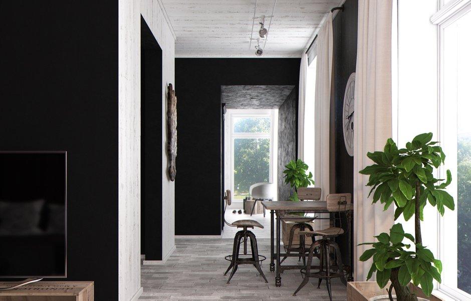Фотография: Кухня и столовая в стиле Современный, Квартира, Дома и квартиры, Перепланировка, Переделка – фото на INMYROOM