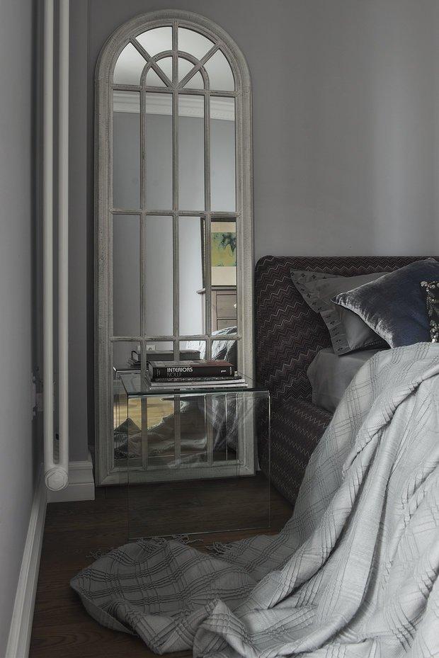 Фотография: Спальня в стиле Эклектика, Современный, Квартира, Проект недели, Москва, Валерия Дзюба, Nido Interiors, новостройка – фото на INMYROOM