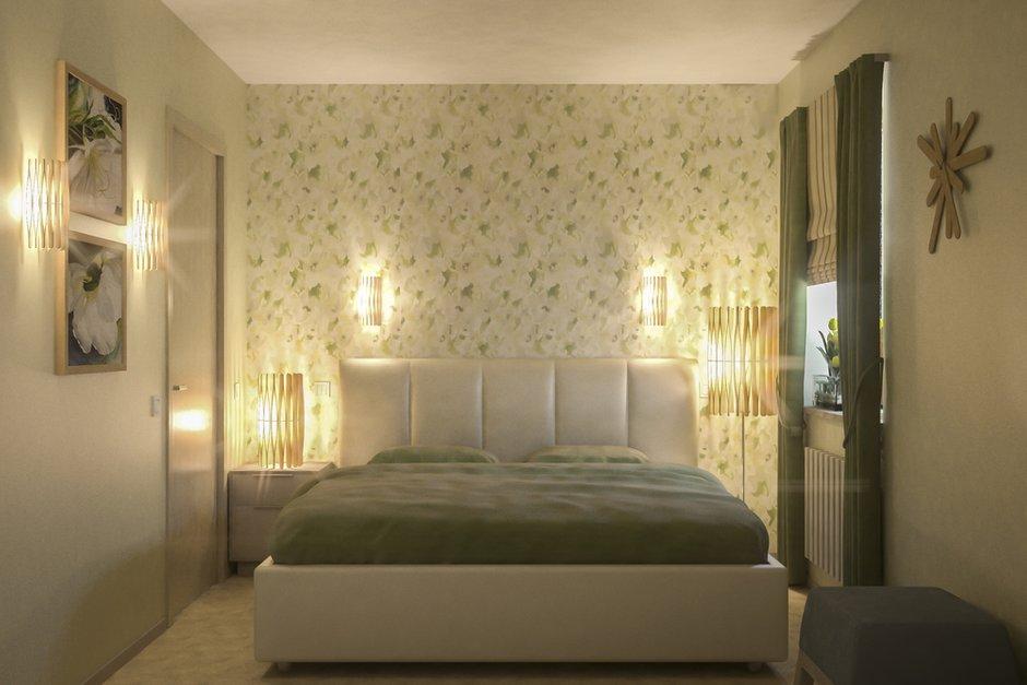 Фотография: Спальня в стиле Эклектика, Малогабаритная квартира, Квартира, Дома и квартиры, Перепланировка – фото на INMYROOM