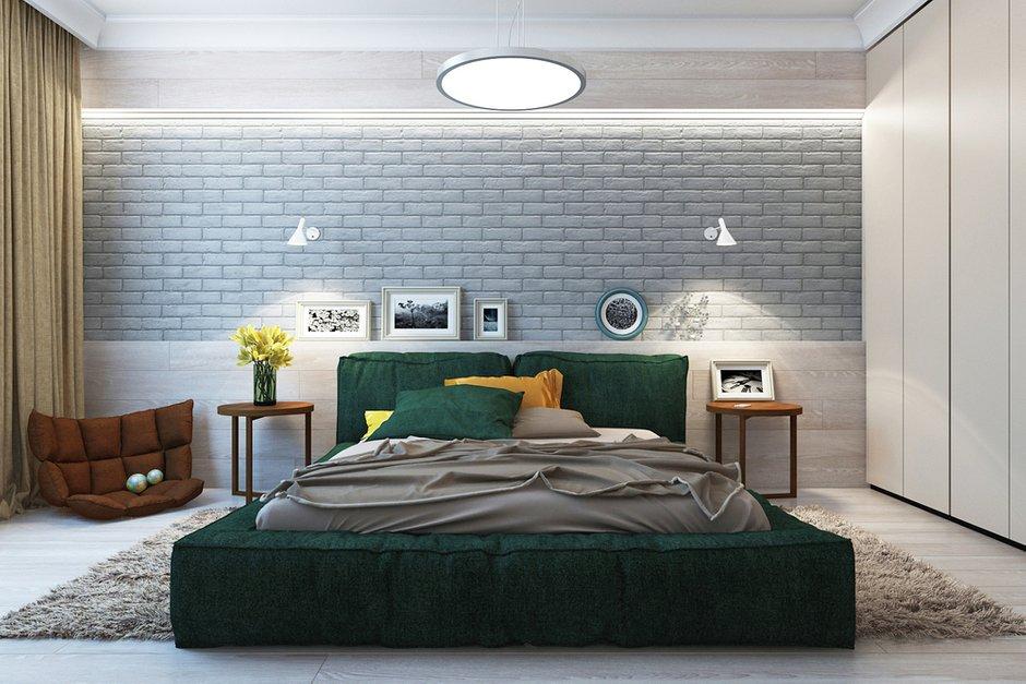 Фотография: Спальня в стиле Лофт, Эклектика, Квартира, Минимализм, Проект недели – фото на INMYROOM