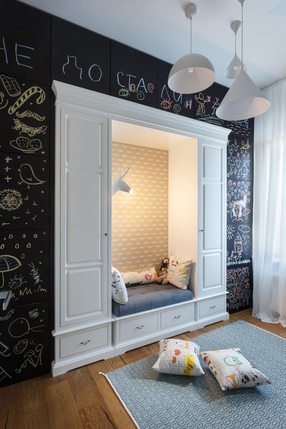 Фотография: Детская в стиле Современный, Квартира, Проект недели, Денис Соколов, SVOYA STUDIO – фото на INMYROOM