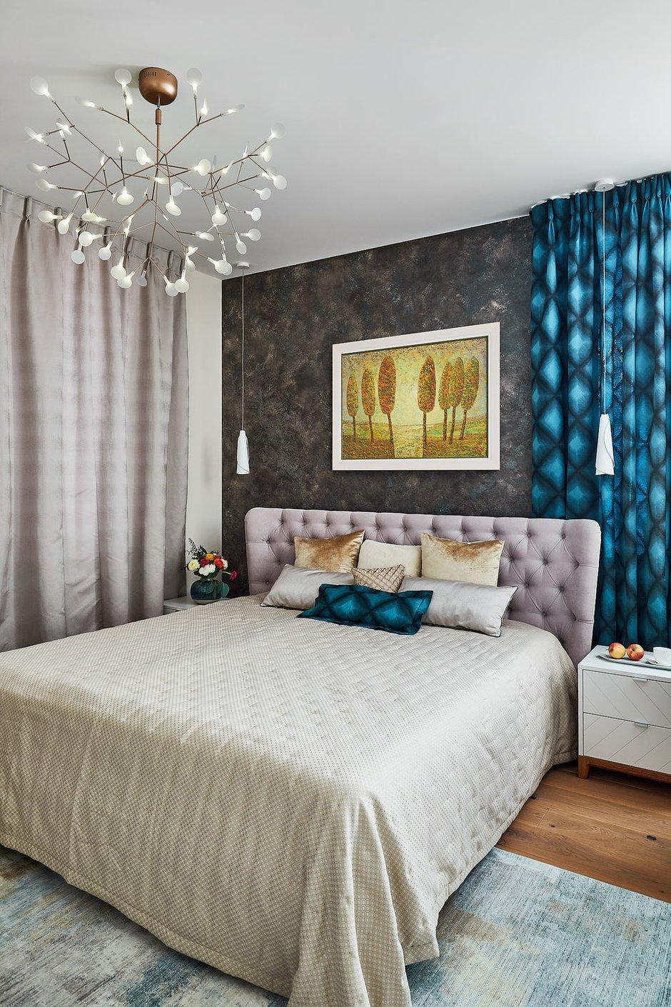 Фотография: Спальня в стиле Современный, Восточный, Эклектика, Квартира, Проект недели, Москва, 4 и больше, Более 90 метров, Бюро IVA – фото на INMYROOM