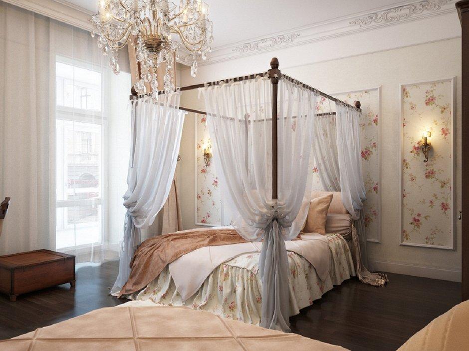 Фотография: Спальня в стиле Классический, Современный, Декор интерьера, Квартира, Текстиль – фото на InMyRoom.ru