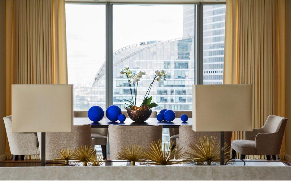 Фотография: Гостиная в стиле Современный, Квартира, Проект недели, Москва, Марина Филиппова, Монолитный дом, 3 комнаты, Более 90 метров, #эксклюзивныепроекты – фото на INMYROOM