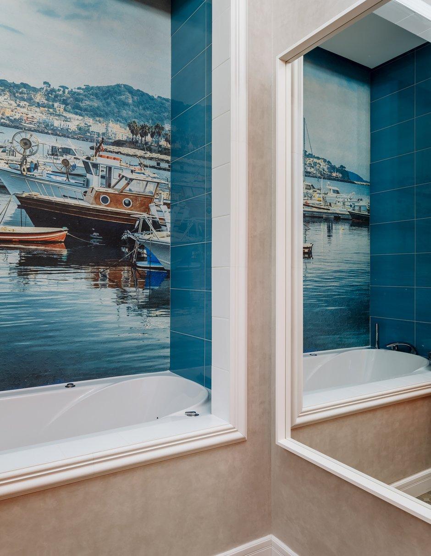 Фотография: Ванная в стиле Современный, Классический, Квартира, Проект недели, Красногорск, Монолитный дом, 2 комнаты, 60-90 метров, Лина Савина – фото на INMYROOM