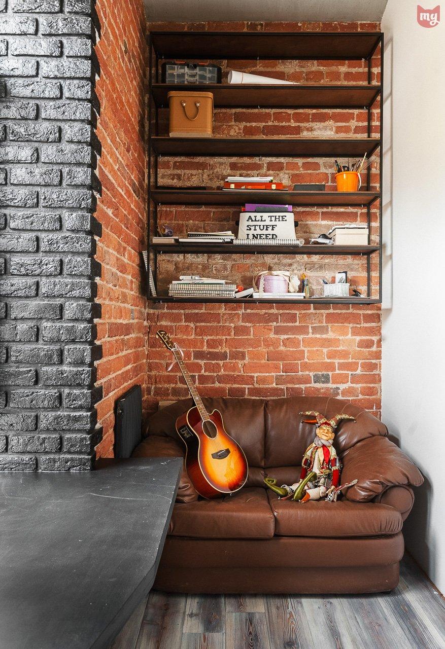 Фотография: Балкон в стиле Лофт, Эклектика, Квартира, Проект недели, Москва, Герой InMyRoom, Ксения Стрекоза – фото на INMYROOM