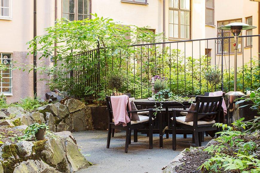Фотография: Балкон, Терраса в стиле Современный, Скандинавский, Квартира, Дома и квартиры, Стокгольм – фото на INMYROOM