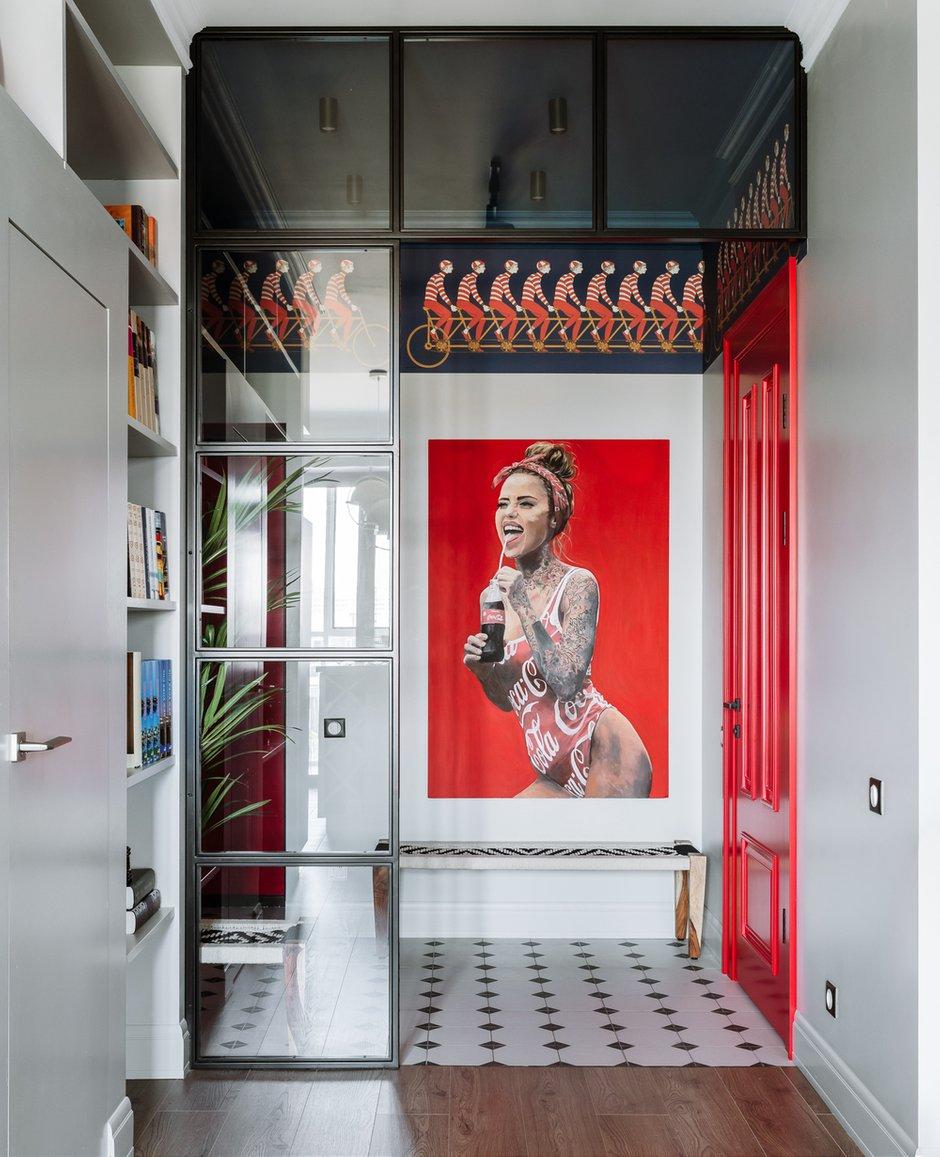 Фотография: Прихожая в стиле Современный, Квартира, Проект недели, Московская область, 1 комната, 40-60 метров, Анна Моджаро, ПРЕМИЯ INMYROOM – фото на INMYROOM