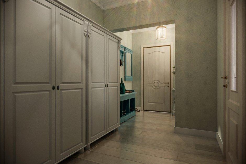 Фотография: Прихожая в стиле Прованс и Кантри, Квартира, Дома и квартиры, Прованс, Проект недели, Москва – фото на INMYROOM