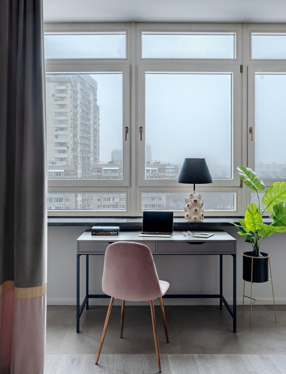 Фотография: Гостиная в стиле Современный, Квартира, Проект недели, Москва, 2 комнаты, 40-60 метров, Анна Морозова – фото на INMYROOM