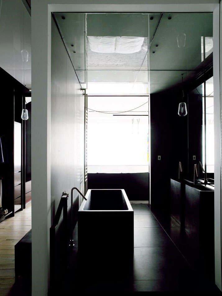 Фотография: Ванная в стиле Лофт, Квартира, Дома и квартиры, Проект недели, Индустриальный – фото на INMYROOM
