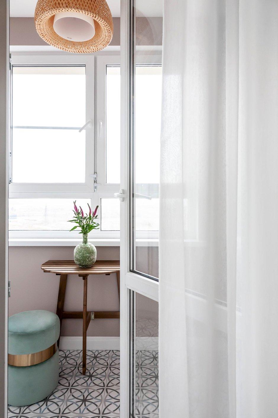 Фотография: Балкон в стиле Современный, Квартира, Проект недели, Москва, 3 комнаты, 60-90 метров, Евгения Постухова – фото на INMYROOM