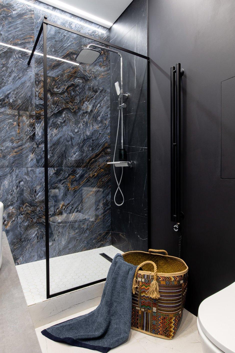 Фотография: Ванная в стиле Минимализм, Квартира, Студия, Проект недели, Москва, до 40 метров, Давид Аксенов – фото на INMYROOM