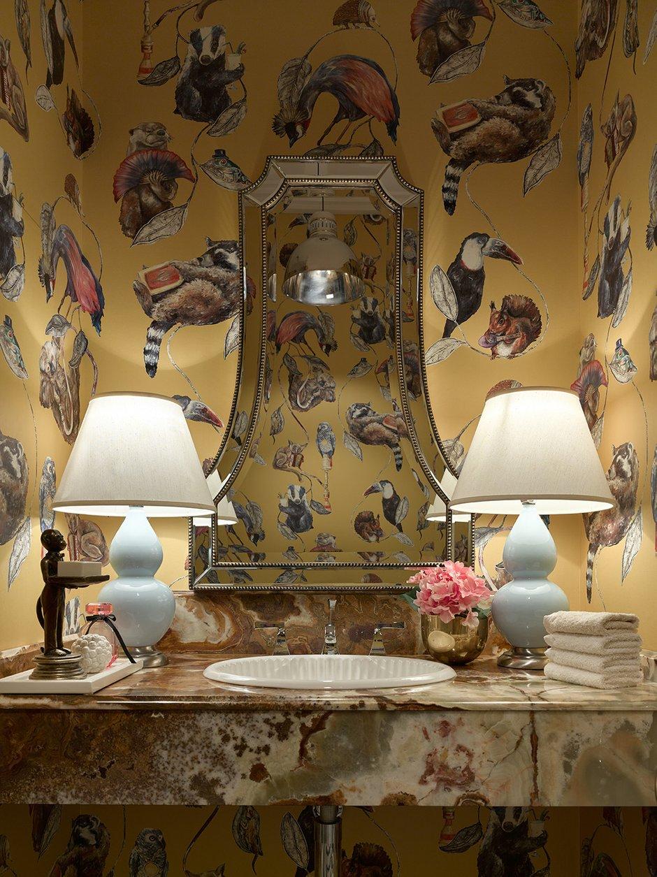 Фотография: Декор в стиле Классический, Квартира, Проект недели, Москва, 4 и больше, Более 90 метров, Монолитно-кирпичный, Марина Жукова – фото на INMYROOM