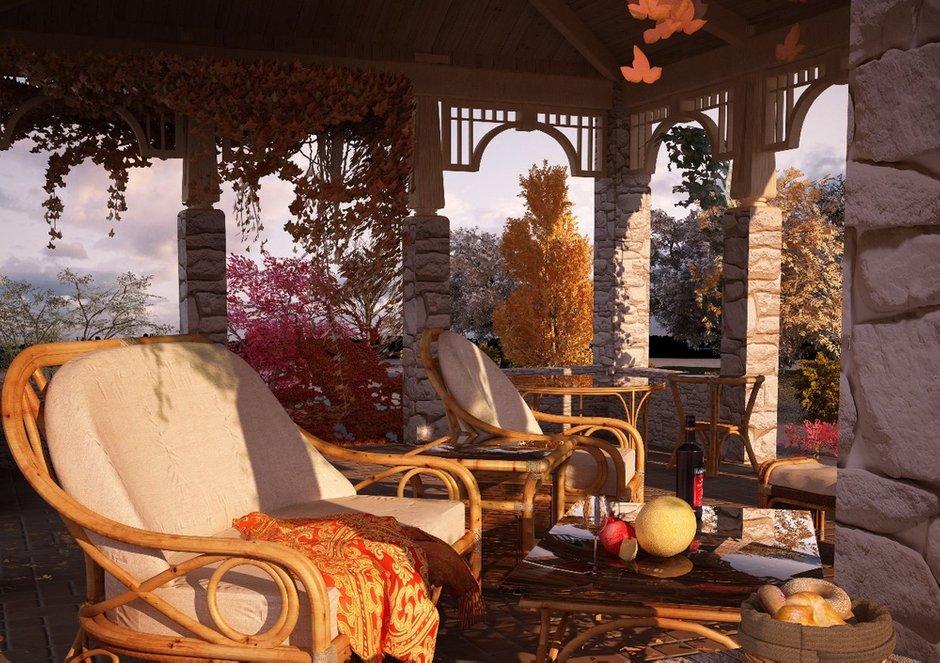 Фотография: Балкон, Терраса в стиле , Дом, Дома и квартиры, Проект недели, Современное искусство – фото на INMYROOM