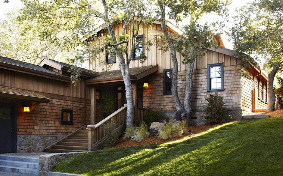 Фотография:  в стиле Современный, Дом, Терраса, Дома и квартиры, Бассейн, Калифорния – фото на INMYROOM