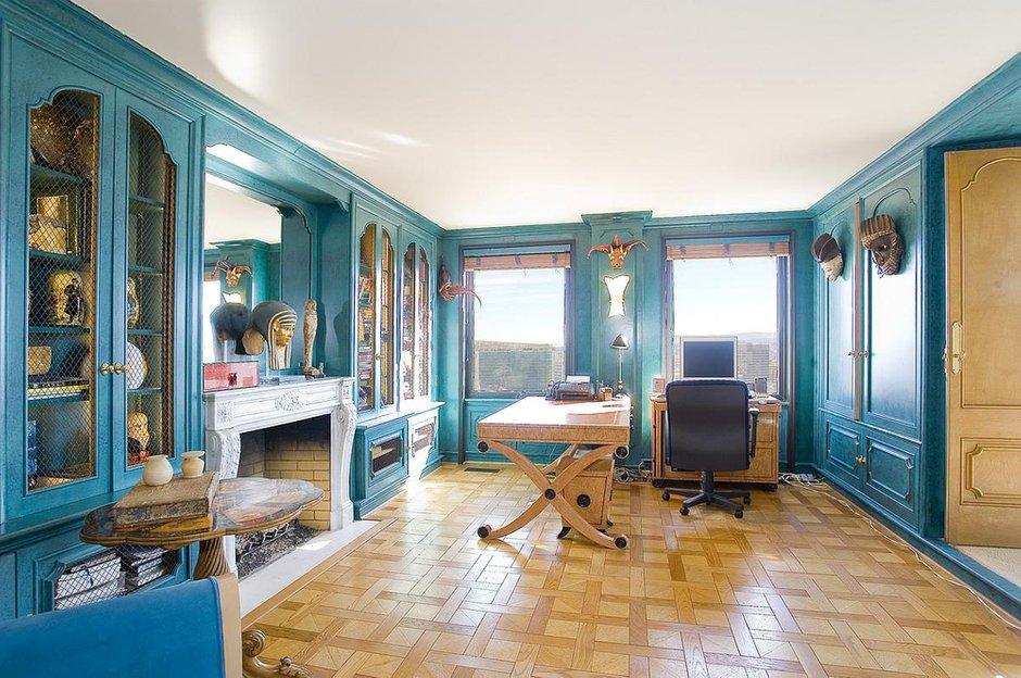 Фотография: Офис в стиле Классический, Современный, Квартира, Терраса, Дома и квартиры, Камин, Пентхаус, Ар-деко – фото на INMYROOM