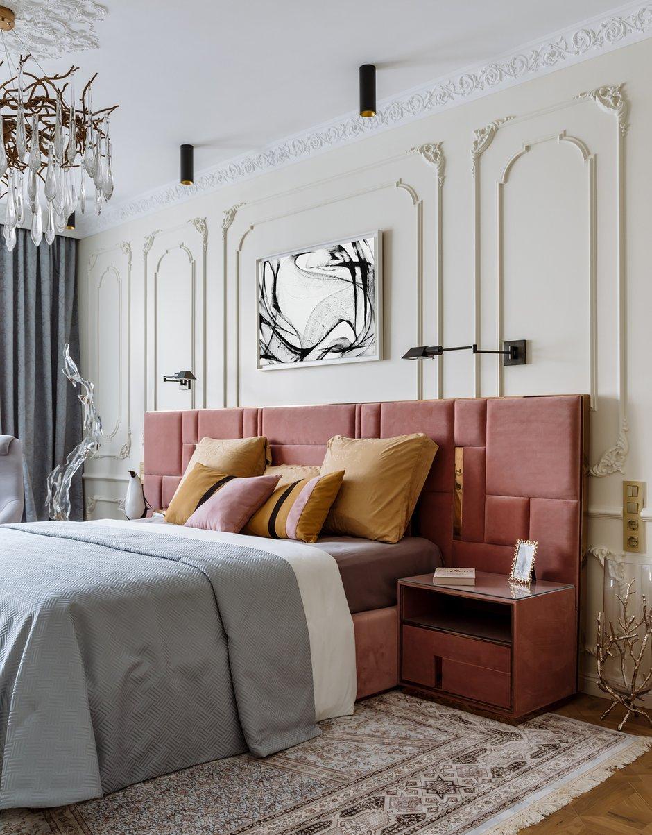 Фотография: Спальня в стиле Классический, Эклектика, Квартира, Проект недели, Москва, Монолитный дом, 4 и больше, Более 90 метров, #эксклюзивныепроекты, Инна Арбуа, ПРЕМИЯ INMYROOM – фото на INMYROOM