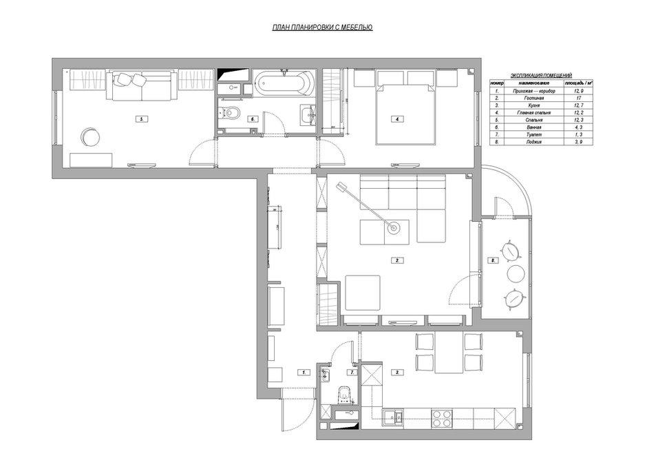 Фотография: Планировки в стиле , Квартира, Проект недели, NW-Interior – фото на INMYROOM