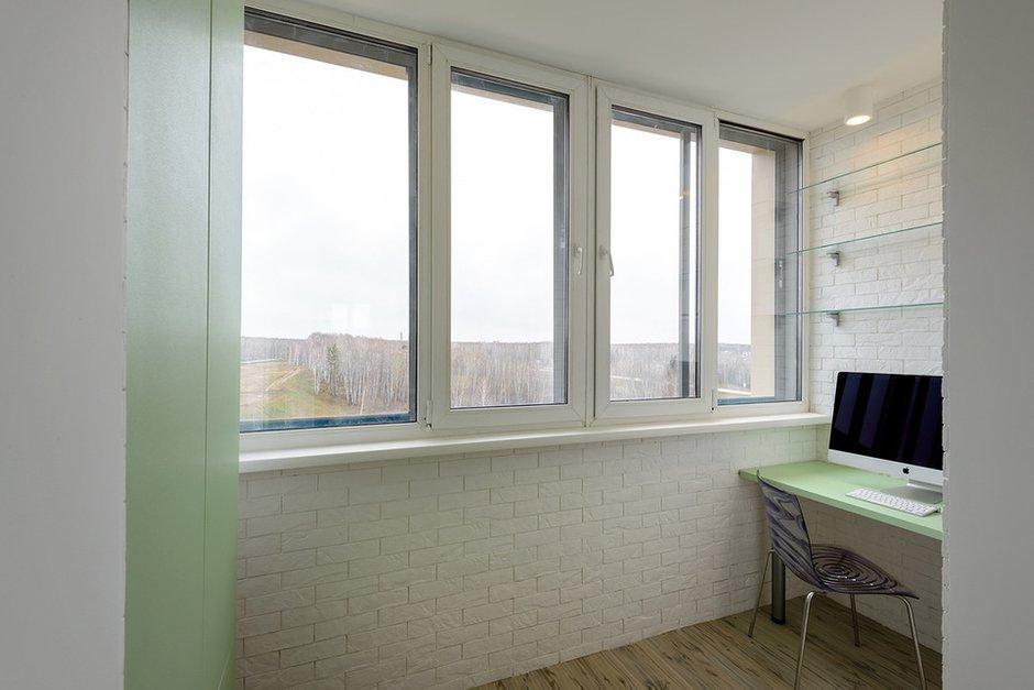 Фотография: Офис в стиле Современный, Малогабаритная квартира, Квартира, Дома и квартиры, Минимализм, Переделка – фото на InMyRoom.ru