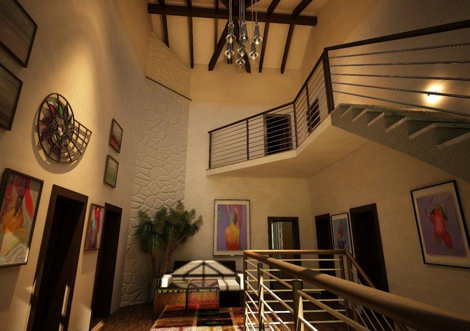 Фотография: Прихожая в стиле Скандинавский, Дом, Дома и квартиры, Проект недели, Современное искусство – фото на INMYROOM